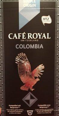 10 Capsules Cafe Origine Colombie C. royal