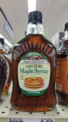 100 % Maple syrup