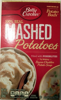 100% Mashed Potatoes