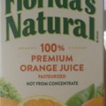 100% Premium Orange Juice No Pulp