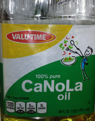 100% Pure Canola Oil