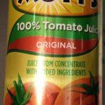 100% Tomato Juice