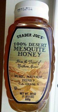100% desert mesquite honey