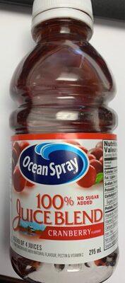 100% juice blend