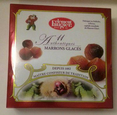 11 Authentiques Marrons Glacés