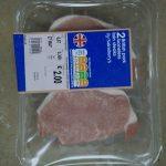 2 british pork boneless loin steaks