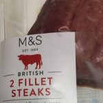 2 fillet steaks