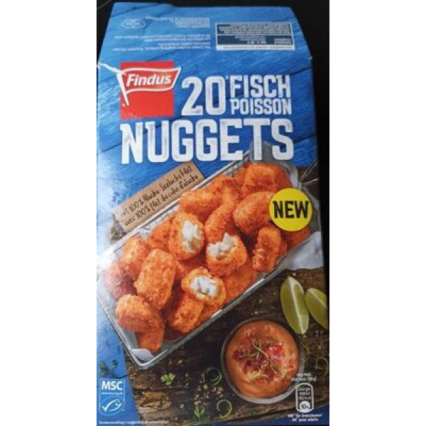 20 nuggets de poisson