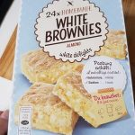24xhomemade White brownies