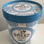 3% Greek Style Frozen Yogurt Vanilla