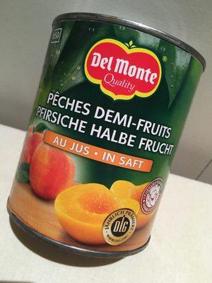 4 / 4 Peches Au Jus Delmont