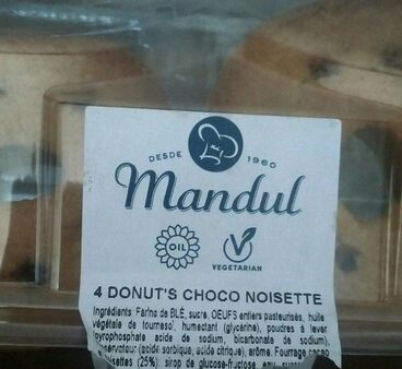 4 DONUTS CHOCO NOISETTE