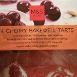 4 cherry bakewell tarts