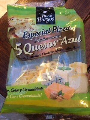5 quesos con Azul