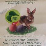 6 œufs de Pâques bio suisses