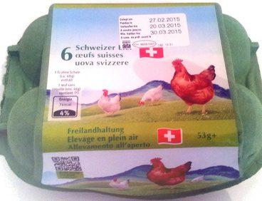 6 œufs suisses