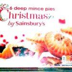 6 Christmas deep mince pies