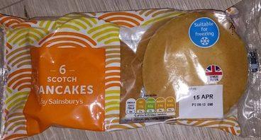 6 Scotch Pancakes