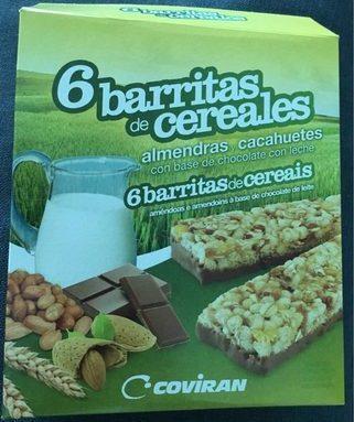 6 barritas de cereales