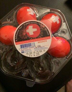 6 oeufs suisses