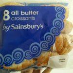 8 All Butter Croissants