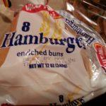 8 Hamburger Buns