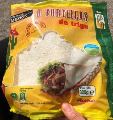 8 Tortitas De Trigo
