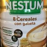 8 cereales con galleta 6 meses