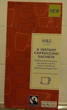 8 instant cappuccino sachets