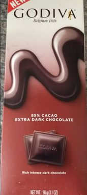 85% Cacao Extra Dark Chocolate