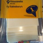 9 mozzarella slices