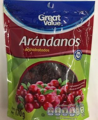 ARANDANOS DESHIDRATADOS
