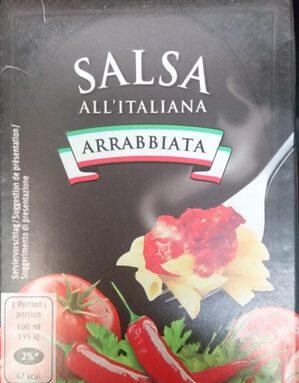ARRABBIATA SALSA ALL'ITALIANA