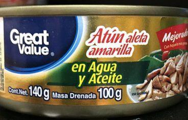 ATUN ALETA AMARILLA AGUA Y ACEITE