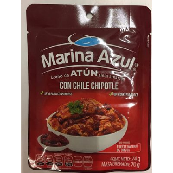 ATUN CON CHILE CHIPOTLE