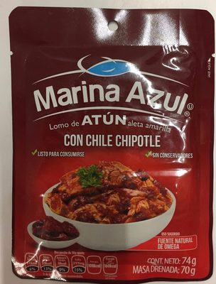 ATUN CON CHILE CHIPOTLE