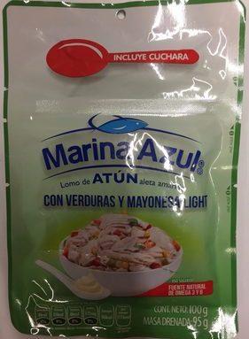 ATUN CON VERDURAS Y MAYONESA LIGHT