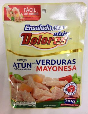 ATUN CON VERDURAS Y MAYONESA