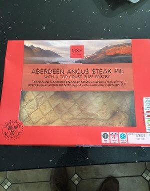 Aberdeen angus steak pie