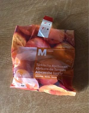 Abricots de Turquie