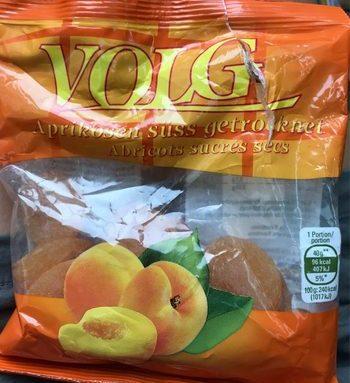 Abricots sucrés secs