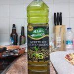 Aceite de oliva virgen sabor mediterraneo