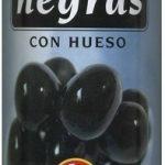 "Aceitunas negras enteras ""Alipende"" Variedad Cacereña"