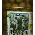 Aceitunas verdes deshuesadas Manzanilla