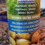 Aceitunas verdes suaves