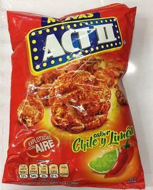 Act II sabor Chile y Limón