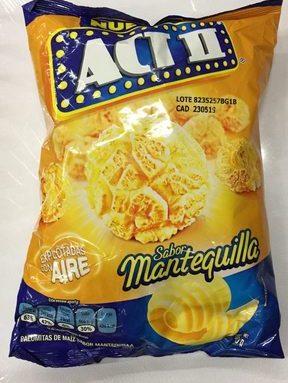 Act II sabor Mantequilla