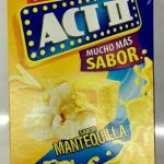 Act II sabor Mantequilla 3 Pack