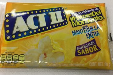 Act II sabor Mantequilla Extra