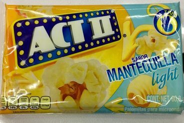 Act II sabor Mantequilla Light